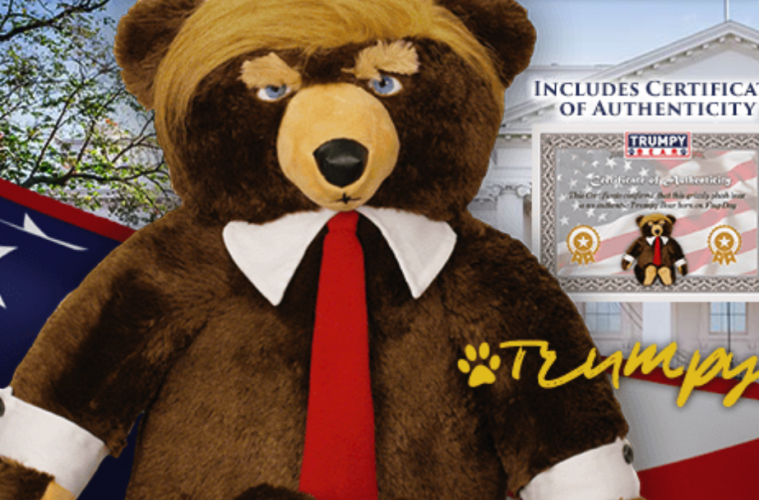 Distorted View Daily 11 02 17 Trumpy The Bear